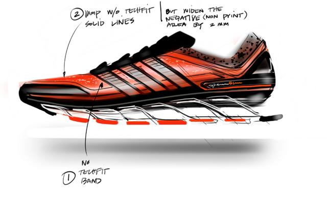 zapatillas adidas running springblade