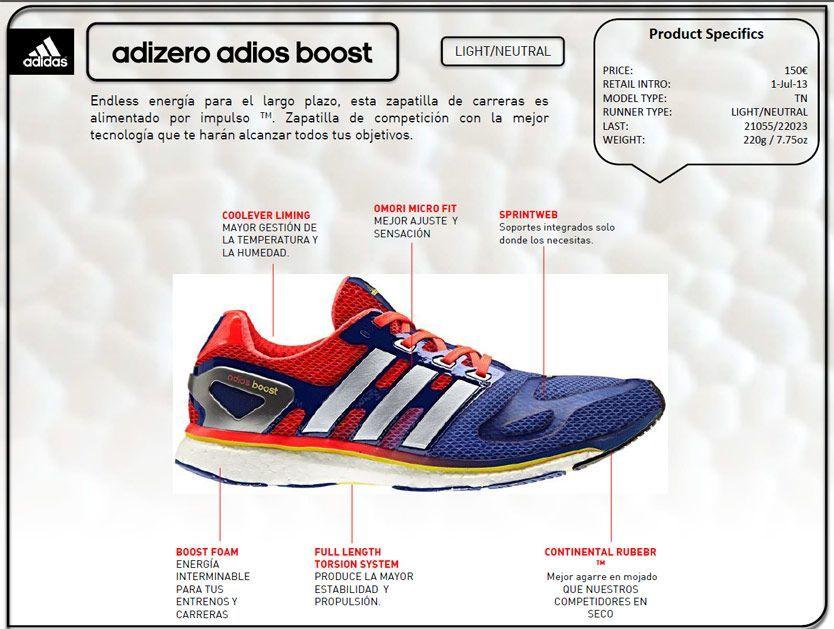 Zapatillas Adizero Adios Boost 2