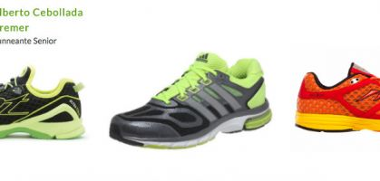 Las 3 zapatillas de running favoritas de Alberto Cebollada en 2013