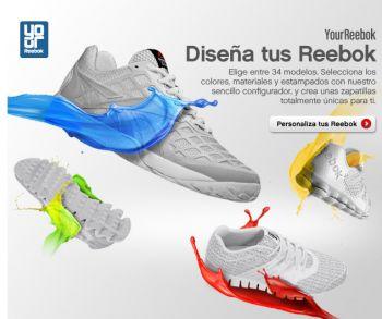Asser Emigrar péndulo  YourReebok: Reebok se apunta a la moda de personalizar las zapatillas