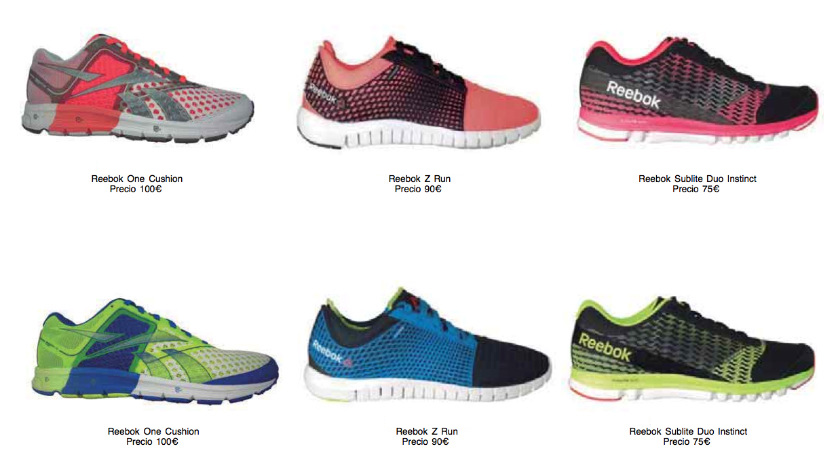 reebok zapatillas running mujer
