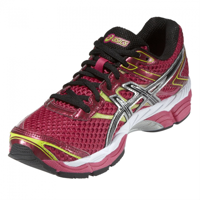 asics grises mujer