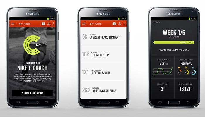 muerto ventilador Amado  Nike+ Coach, planes de entrenamiento adaptados a tus objetivos de carrera