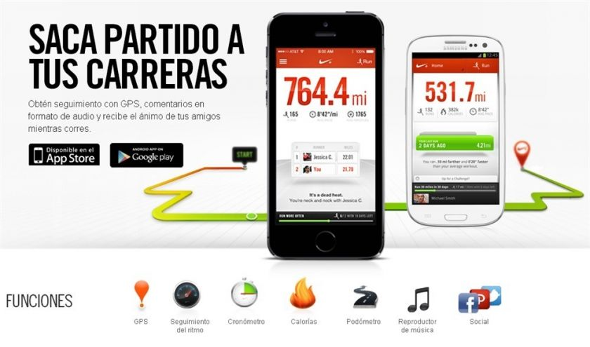 mejores apps para correr android