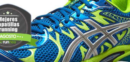 Las mejores zapatillas de running del mes de Agosto