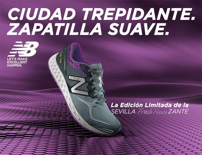 Fresh Foam Zante, edición limitada para «volar» en el Maratón de Sevilla 2015