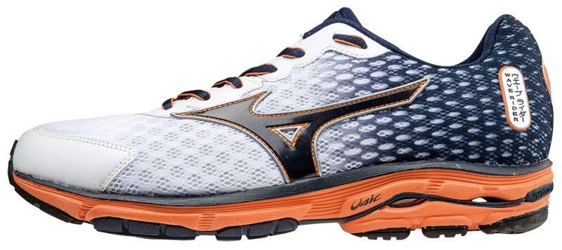 mizuno wave rider 18 orange