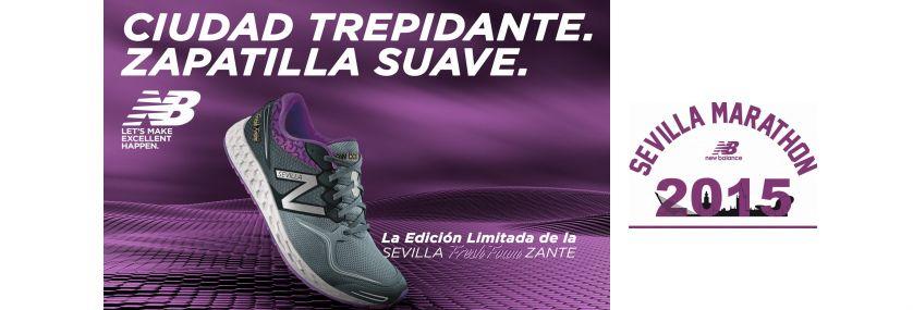 New Balance Fresh Foam Zante, edición limitada para «volar» en el Maratón de Sevilla 2015