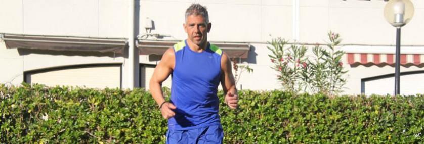 running cuerpo musculado