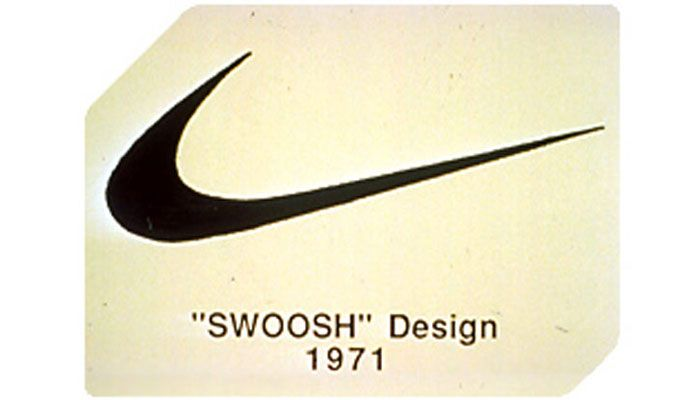 logotipo original Nike Swoosh