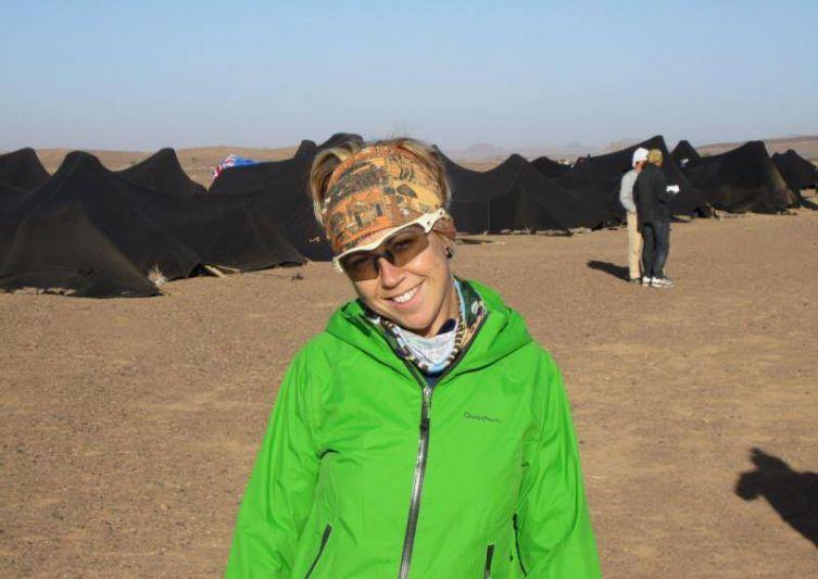 Te presentamos a Sonia Macías: la princesa del desierto, una «»ultrafondista de la vida»