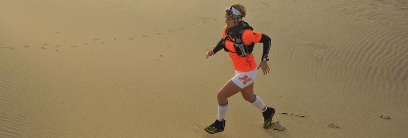 Te presentamos a Sonia Macías: la princesa del desierto, una «ultrafondista de la vida»