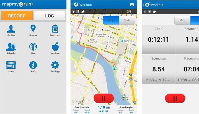 app iPhone Run My Map