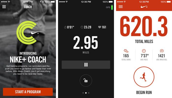app iPhone Nike+ Running