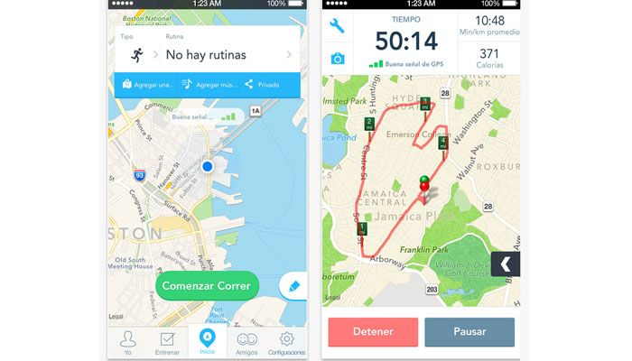 app runkeeper running iPhone