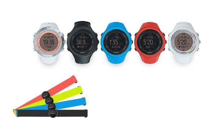 reloj Suunto Ambit3 Sport y cinturon Smart Sensor
