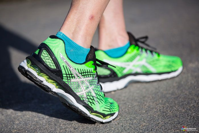 asics gel nimbus 17 green