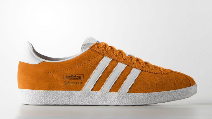 adidas gazelle naranja