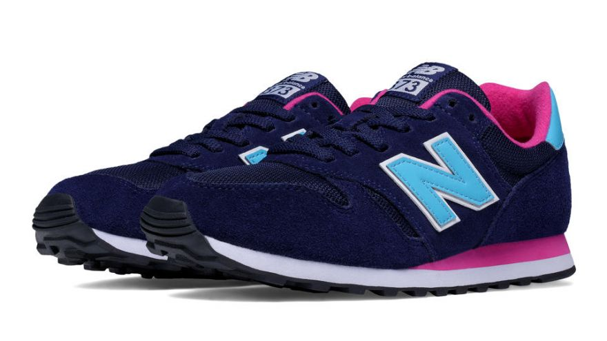 new balance 373 mujer gris y rosa