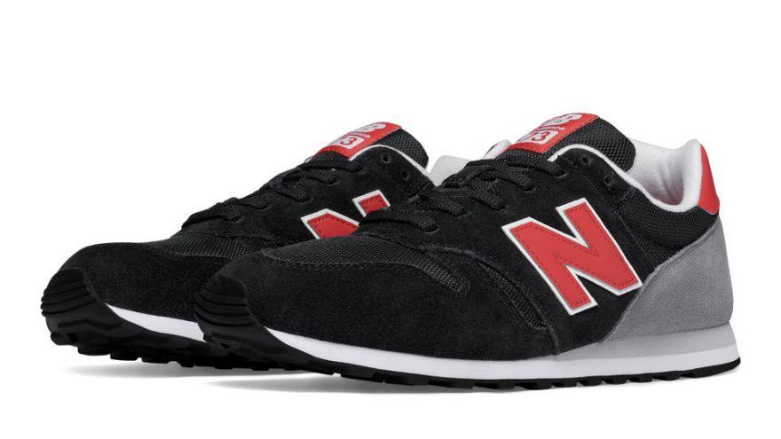 new balance negra y roja
