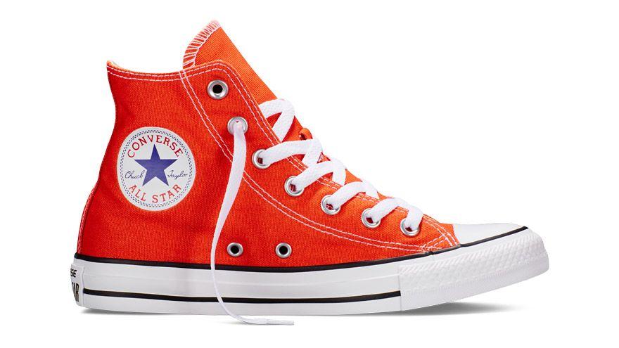 zapatillas converse naranjas