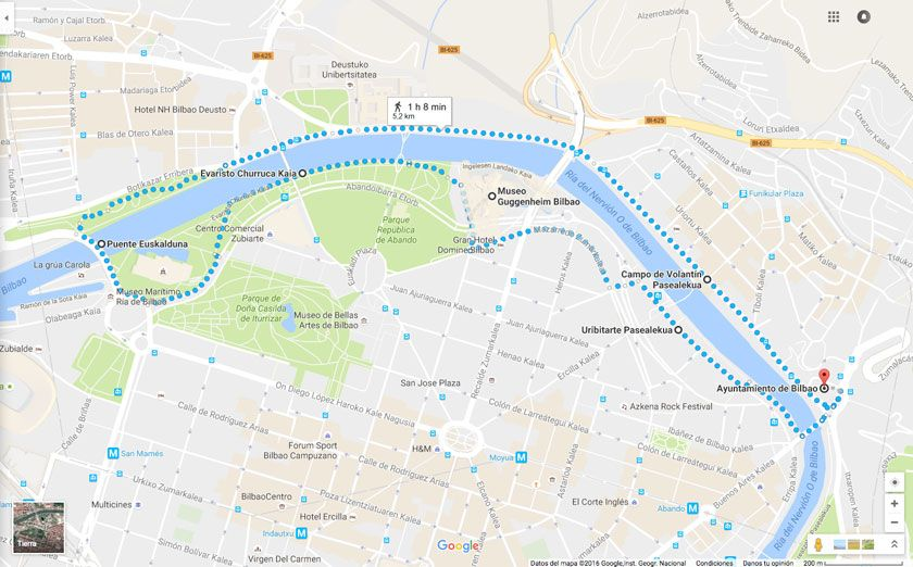 Guía Running de ciudad: Correr por Bilbao