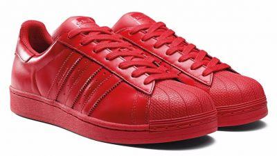 adidas rojas