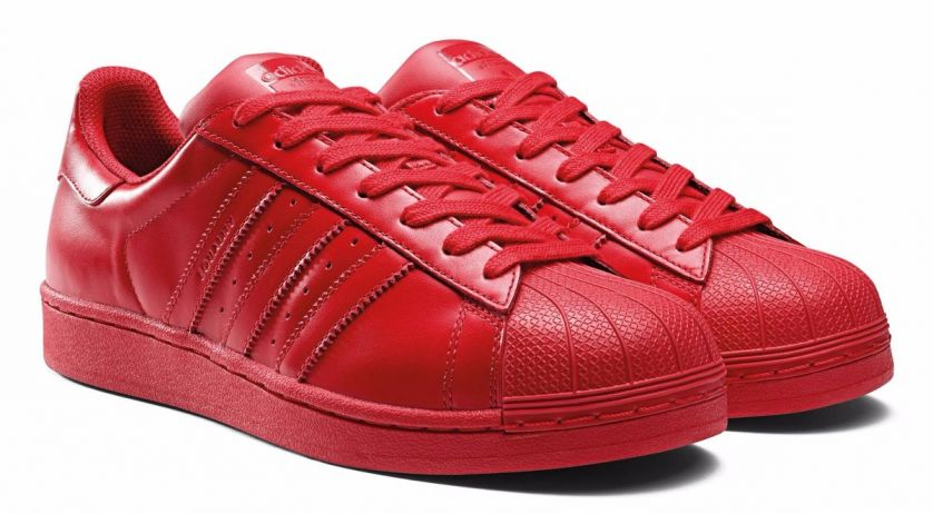 Adidas Tenis Superstar Rojos