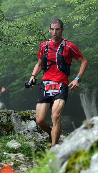 empezar a correr en el monte
