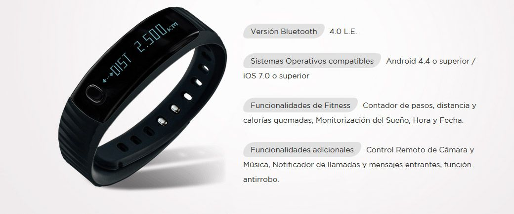 pulsera intex fitrist