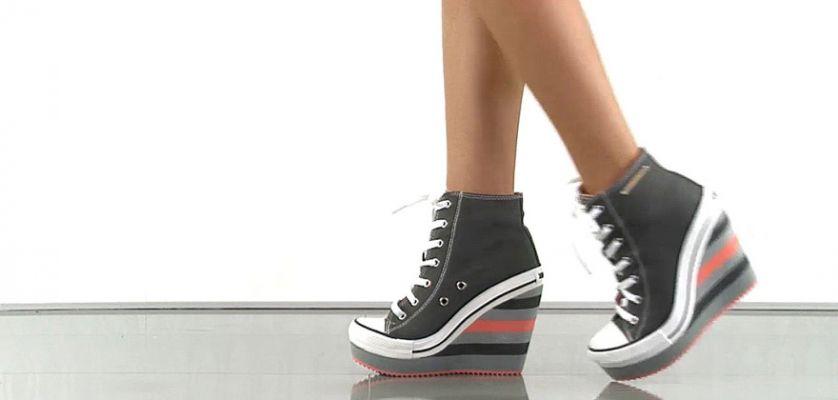 Sneakers con cu a 6 modelos que estilizan tu figura - Sneakers cuna interior ...