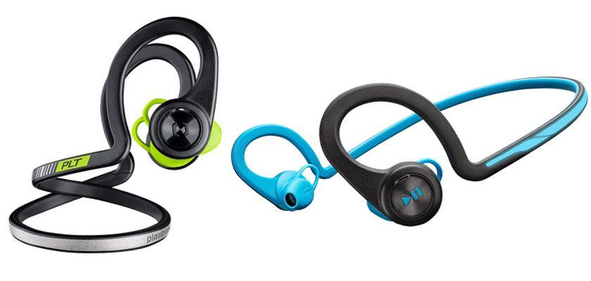 Los 8 mejores auriculares inalámbricos para salir a correr - Plantronics Backbeat Fit
