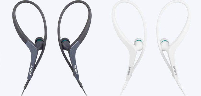 Los 8 mejores auriculares inalámbricos para salir a correr - Sony MDR-AS400EX/400IP
