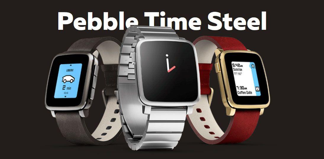 Peeble Time Steel