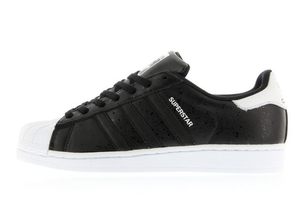 adidas Superstar Core Black Crystal White