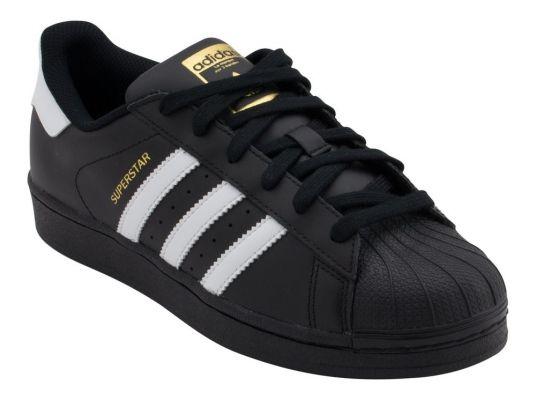 Adidas Superstar Foundation negra