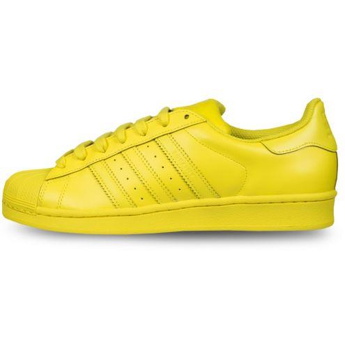 Adidas Superstar amarillas