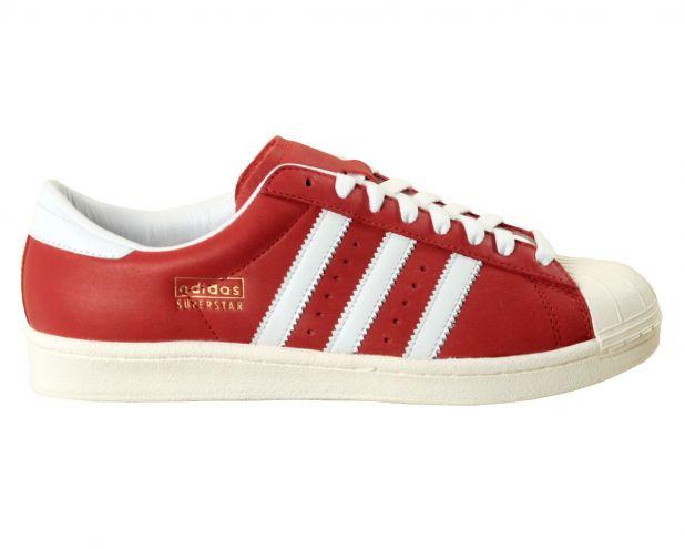 Adidas Superstar rojas