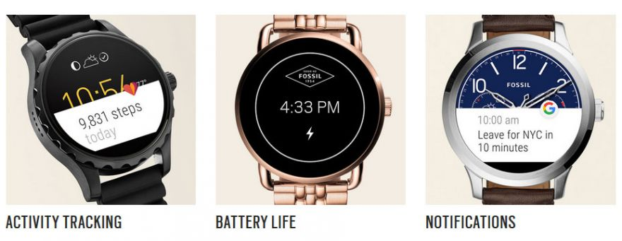 Fossil Q Founder 20