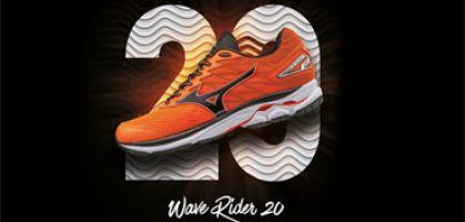 Lanzamiento Mizuno Wave Rider 20, el summum de la innovación tecnológica de la marca nipona