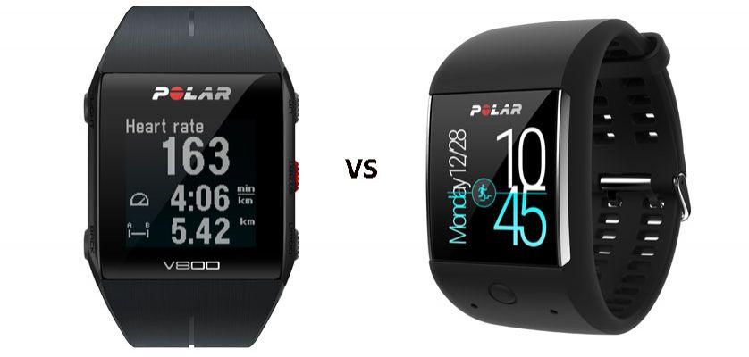 diseño de calidad 0113a adea9 Polar V800 vs Polar M600 ¿Cuál es el más adecuado para ti?