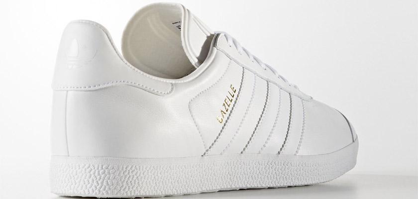 gazelle adidas blancas