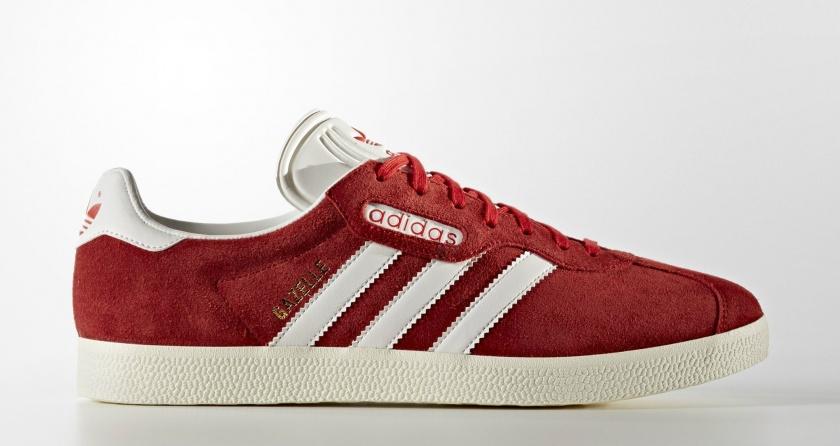 adidas gazelle rojas 2017
