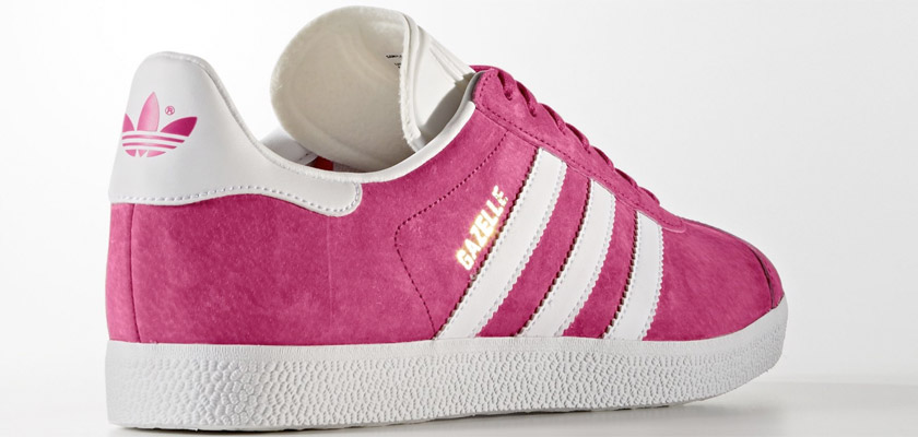 zapatillas gazelle rosa adidas