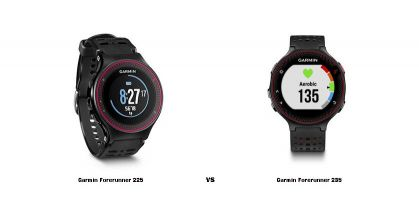 Comparativa: Garmin Forerunner 235 vs Garmin Forerunner 225