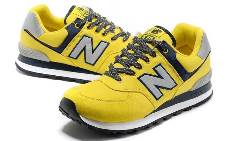 zapatillas new balance amarillas