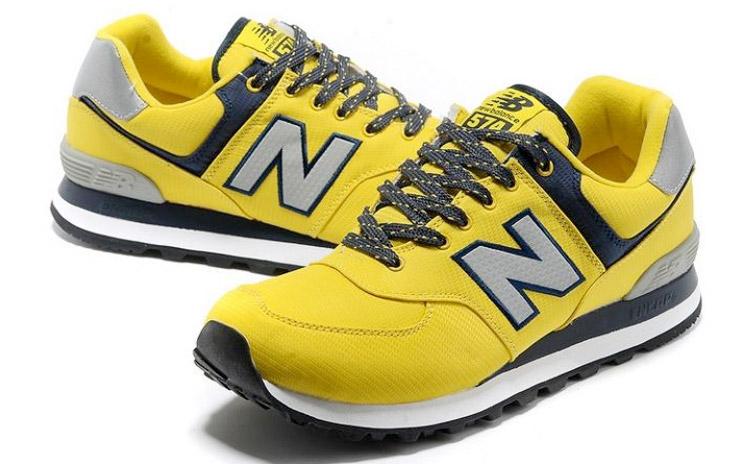 New Balance 574 Amarillas