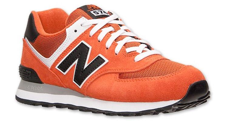 New Balance 574 Naranjas
