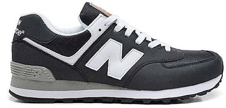 New Balance 574 Negras