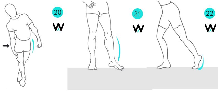 Tabla de estiramientos para después de correr 8